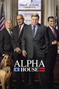 Cover Alpha House, Poster