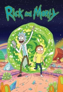 Rick and Morty, Cover, HD, Stream, alle Folgen
