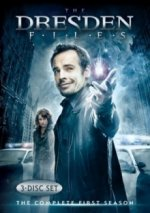 Cover The Dresden Files, Poster The Dresden Files