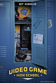 Cover der TV-Serie Video Game High School