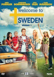 Cover Welcome to Sweden, TV-Serie, Poster